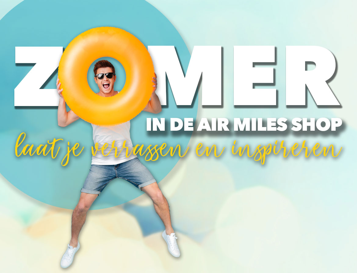 HP banner AM-wk24 Zomer in de Air Miles Shop