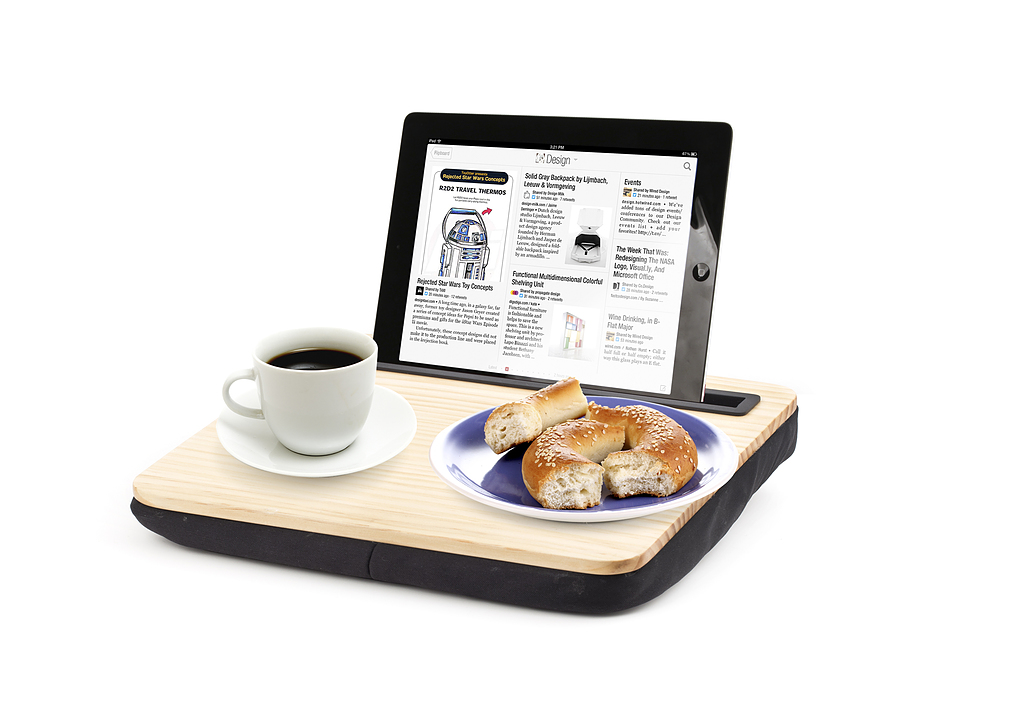 KIKKERLAND Tablethouder 'iBed Lap Desk'