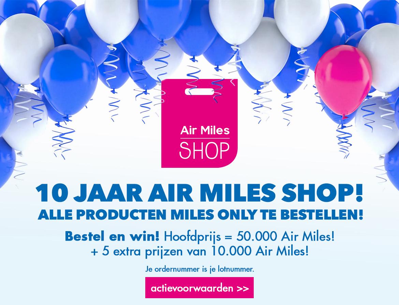 Zoeken Air Miles Shop