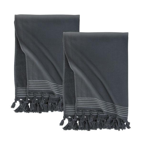 WALRA Set van 2 hamamdoeken 'Soft Cotton' 100 X 180 cm.