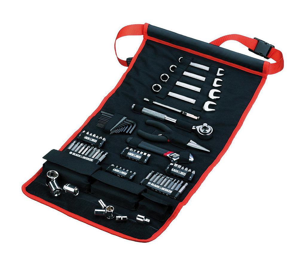 BLACK & DECKER 76-delige toolkit