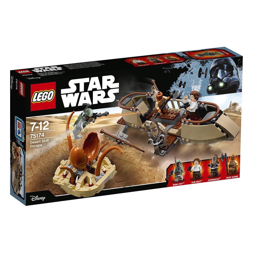 LEGO STAR WARS Woestijnskiff-ontsnapping