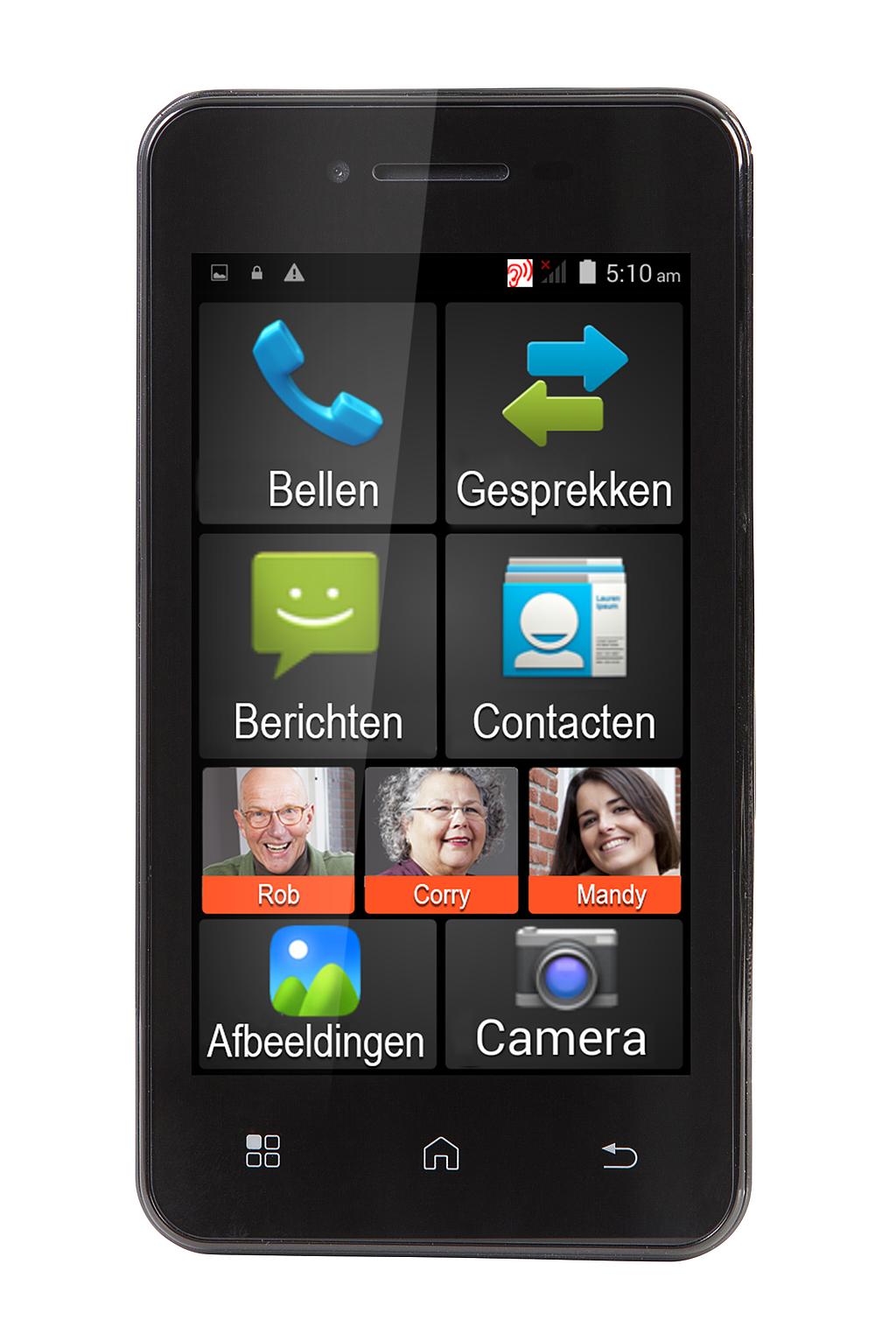 FYSIC Smartphone voor senioren