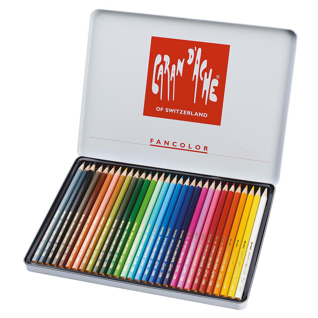CARAN D'ACHE 30 kleurpotloden