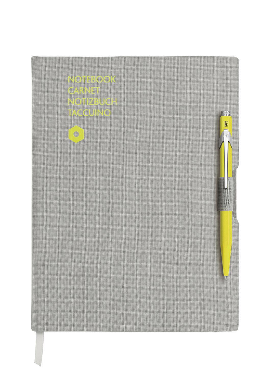 CARAN D'ACHE Notitieboek A5 + balpen
