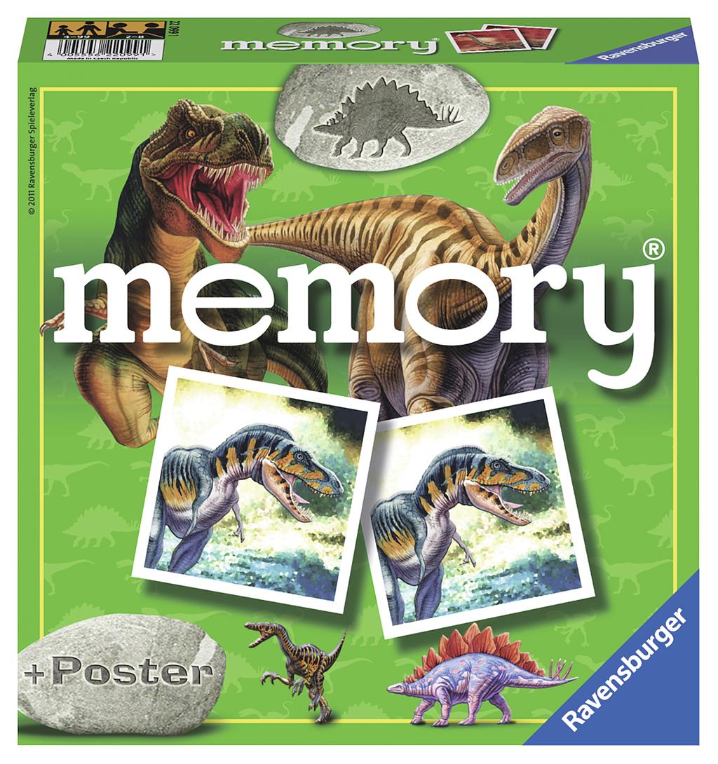 RAVENSBURGER Memory Dinosaurussen