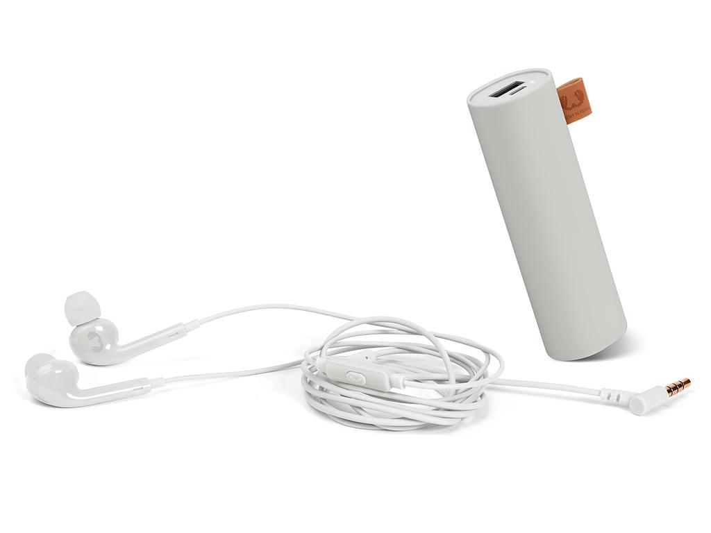 FRESH N REBEL Giftpack powerbank en in-ear hoofdtelefoon